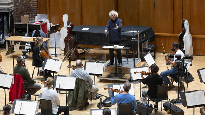 Sir Simon Rattle: 'We are immensely thankful to the DnaNudge team for their part in getting this world-class orchestra back where it belongs'
