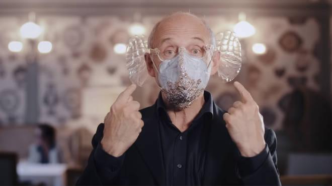 Iván Fischer acoustical mask