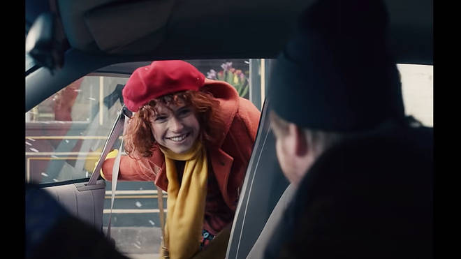 Netflix's 'I'm Thinking of Ending Things' stars Jessie Buckley as Lucy and Jesse Plemmons as Jake.