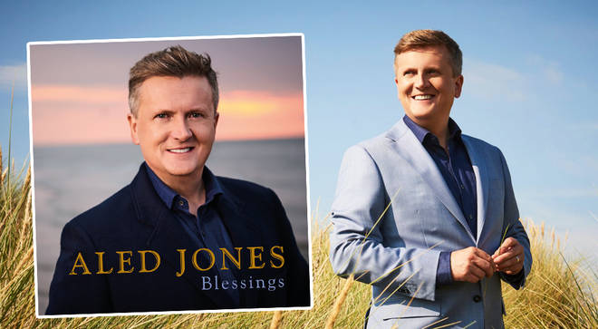 Aled Jones is released a new album titled 'Blessings'