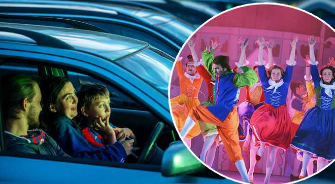 Drive-in Christmas pantomime will tour the UK this festive period