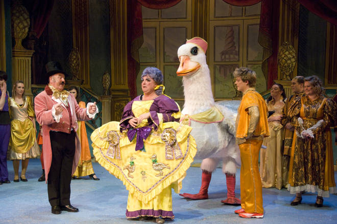 Pantomime fans will be able to watch the festive show from the comfort of their cars