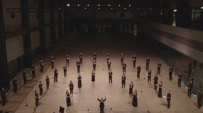 ORA SIngers at the Tate Modern