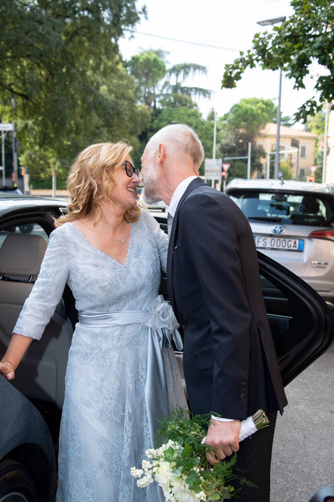 Nicoletta Mantovani and Alberto Tinarelli are married in Bologna