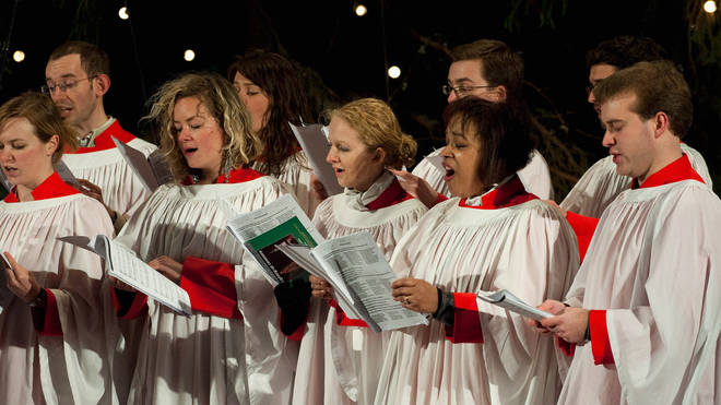 St Martin in the Fields choir sings at Christmas