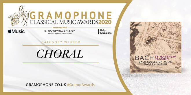 Gramophone Awards 2020 Choral Category Winner
