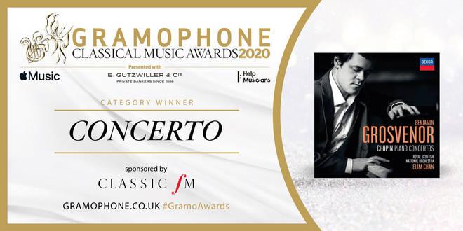 Gramophone Awards 2020 Concerto Category Winner
