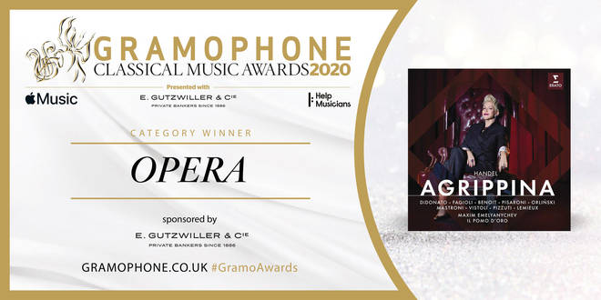 Gramophone Awards 2020 Opera Category Winner