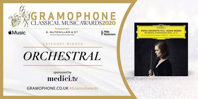 Gramophone Awards 2020 Orchestral Category Winner