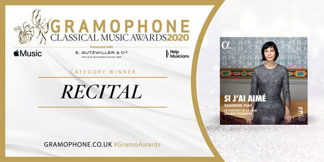 Gramophone Awards 2020 Recital Category Winner