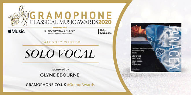 Gramophone Awards 2020 Solo Vocal Category Winner