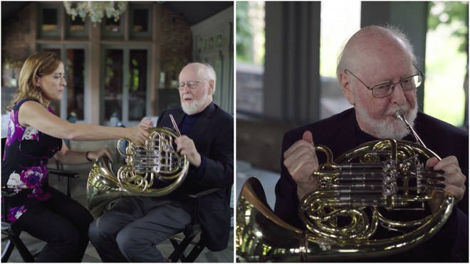 John Williams French horn debut