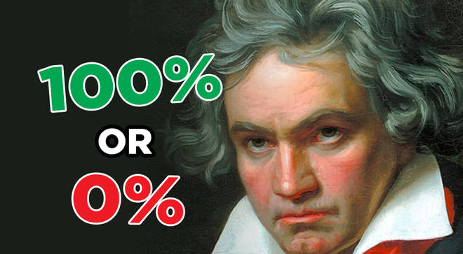 What percent Beethoven are you?