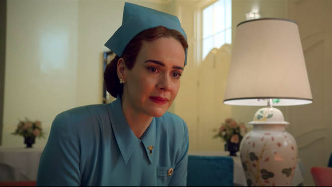 Sarah Paulson stars as Nurse Mildred Ratched in Netflix's series, 'Ratched'