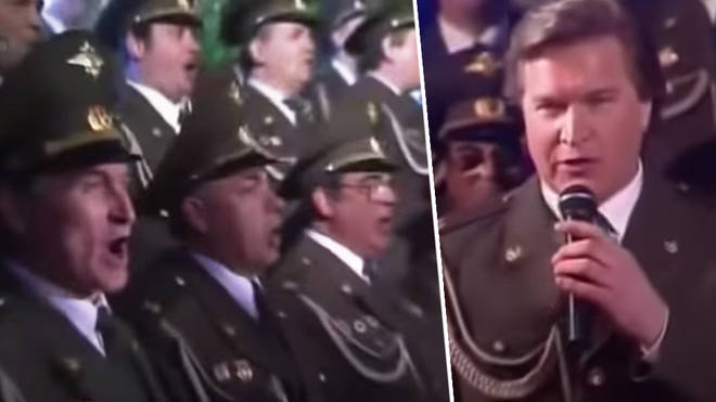 Russian Internal Police choir singing 'Sex Bomb' will bring you joy in dark times