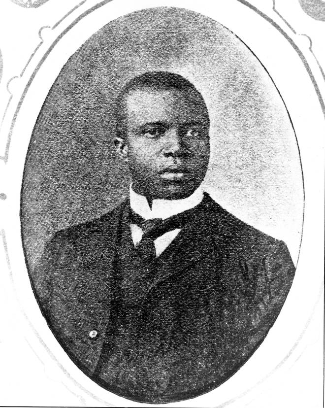 Scott Joplin was born in Texas to a labourer and former slave