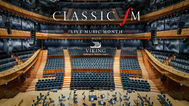 Live music Month with Viking, on Classic FM