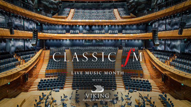 October is Classic FM's Live Music Month with Viking