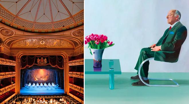 Royal Opera House to David Hockney portrait for vital funds