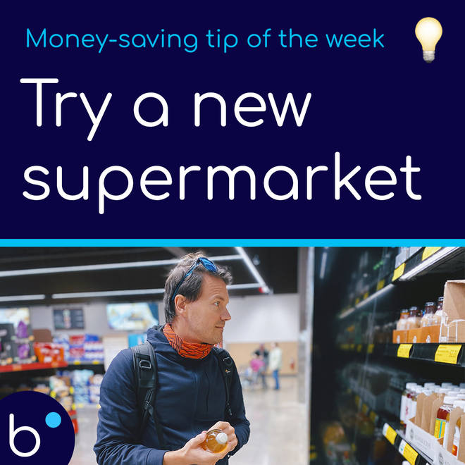 Try a new supermarket