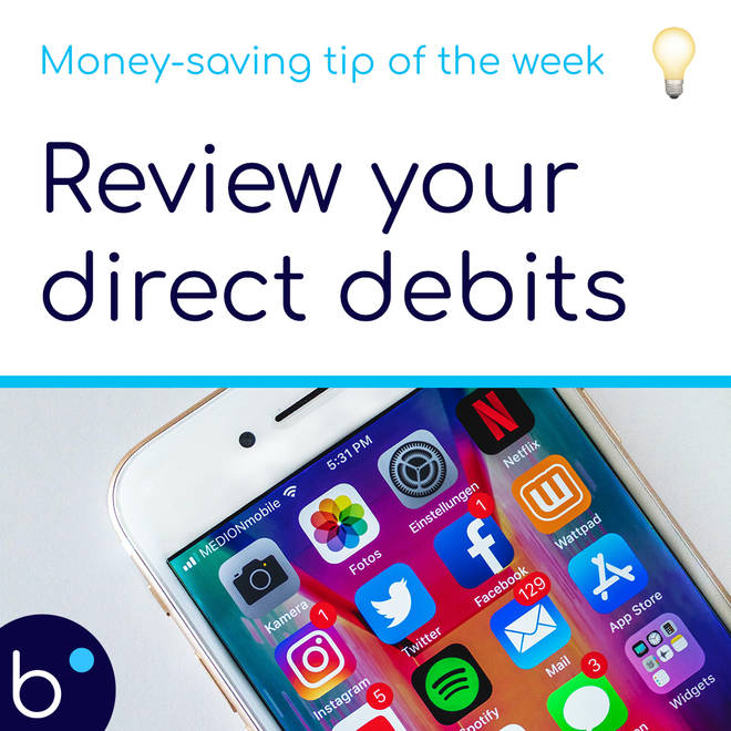 Review your direct debits