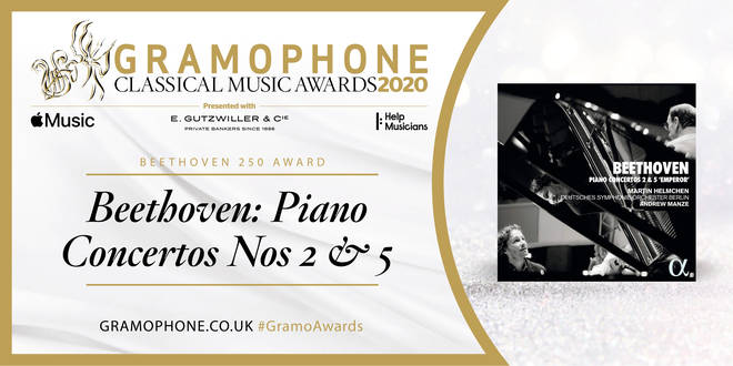 Beethoven 250 Award: Martin Helmchen, DSO Berlin & Andrew Manze