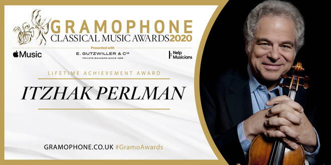 Lifetime Achievement Award: Itzhak Perlman