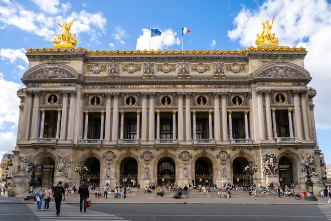 Palais Garnier is home to many Paris Opera productions