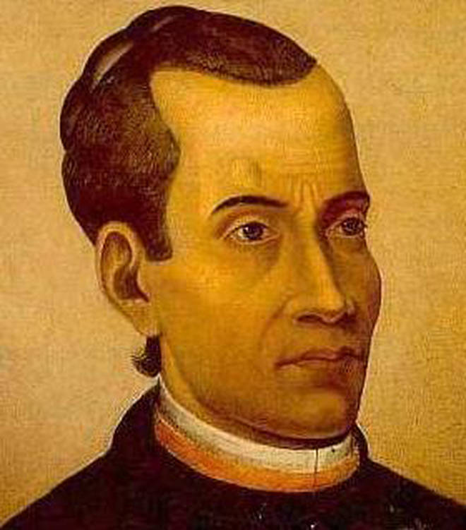 Composer José Maurício Nunes Garcia who wrote the first Brazilian opera