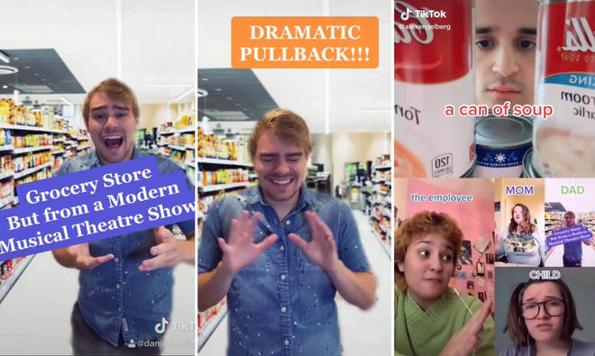 Composer sings original ballad on TikTok and inspires entire musical in a grocery store