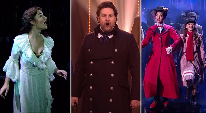 Les Mis, Mary Poppins and Phantom casts perform in 'Britain's Got Talent' final