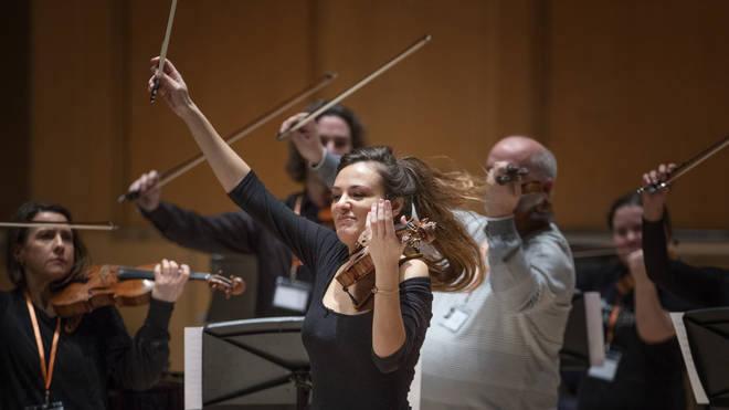 "Violinist Nicola Benedetti: ""We need music to have hope, to keep our imagination alive and to imagine and envisage a better future for ourselves."""