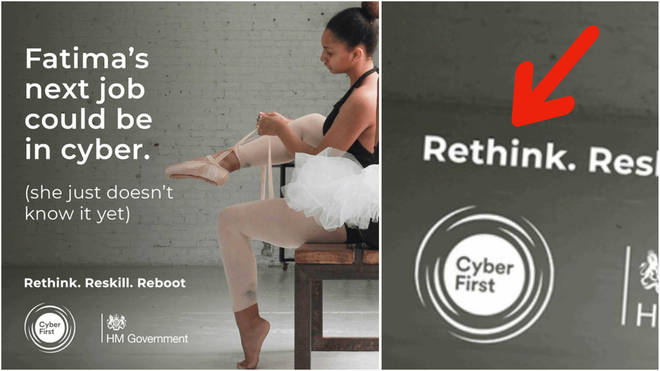 Rethink Fatima ballet advert