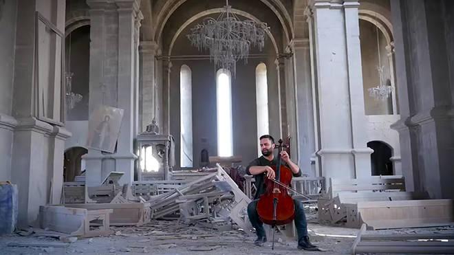 Symbolic concert hall shelled amid Azerbaijan conflict