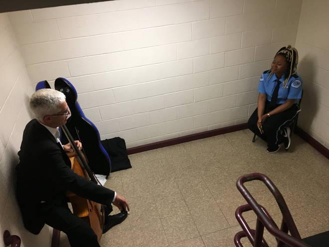 Cello concert from a Baltimore Symphony musician