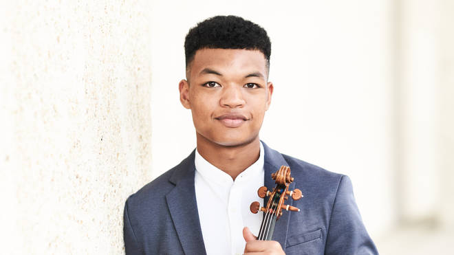 Violinist Randall Goosby has been signed to Decca Classics