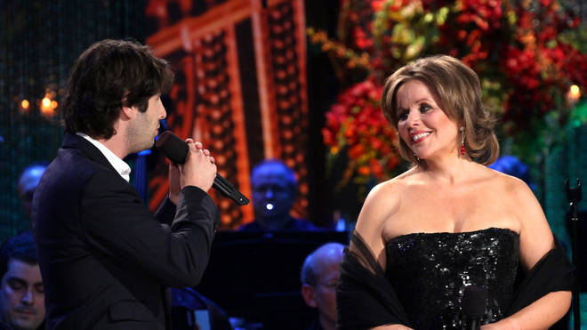 Josh Groban and Renée Fleming