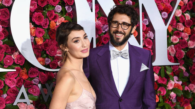 Josh Groban and Schuyler Helford