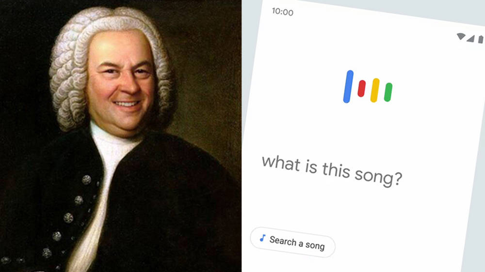Um, Google now lets you search for music just by singing or whistling it.