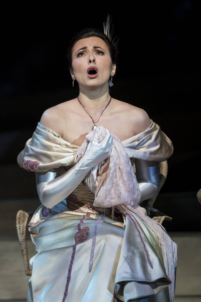 Isabel Leonard is a regular soloist at the Met Opera