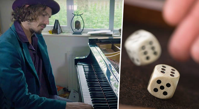 Edward Chilvers is using dice to compose music