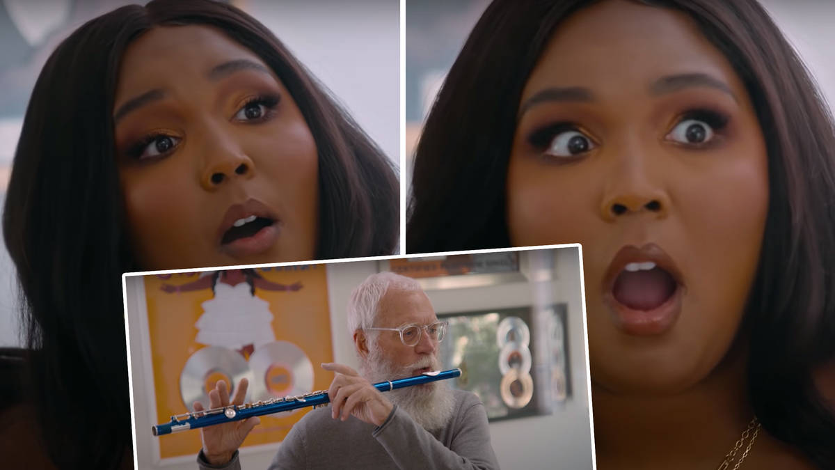 Lizzo taught David Letterman the flute, and now I want Lizzo as my music teacher