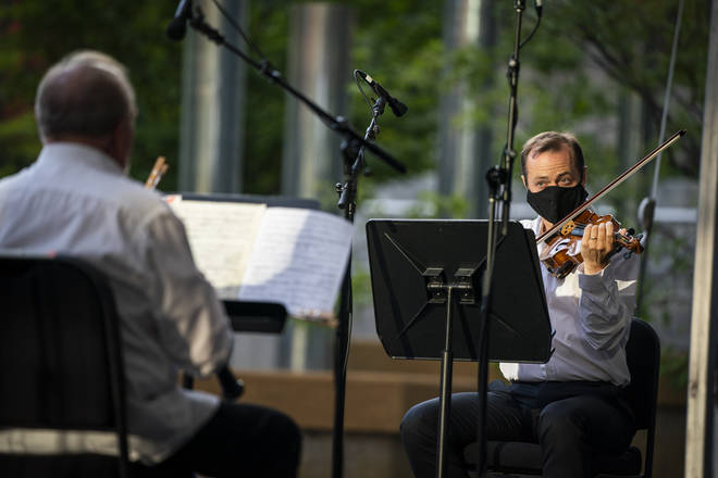 Minnesota Orchestra plays for the first since the pandemic shutdown