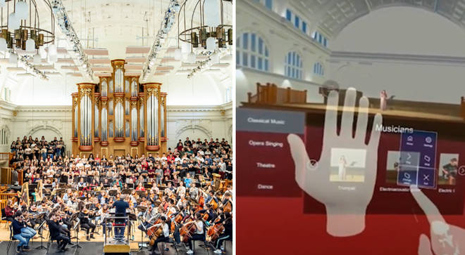 VR headsets give musicians chance to play iconic concert halls