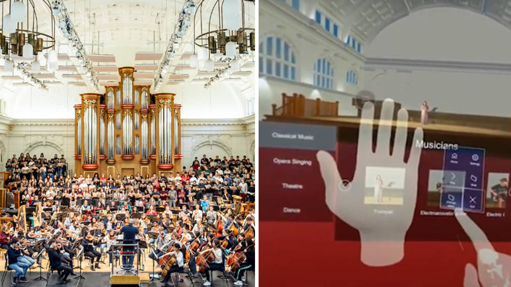 Music college makes VR headsets so struggling musicians can play iconic concert venues