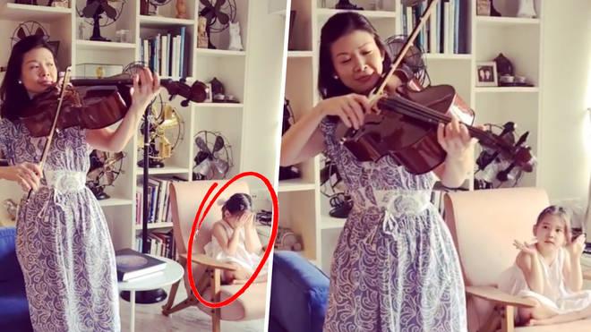 Min Lee cello lesson