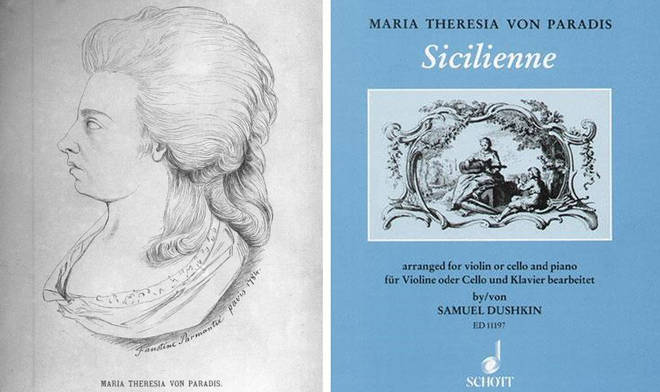 The story of blind pianist, singer and composer Maria Theresia von Paradis