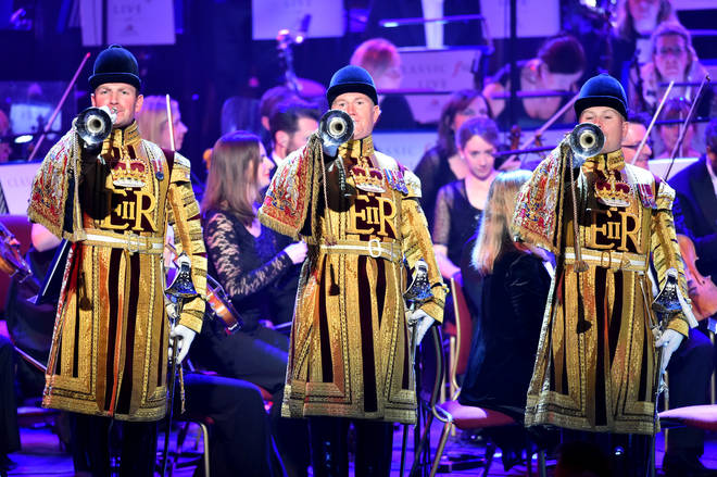 State Trumpeters from the Band of the Household Cavalry