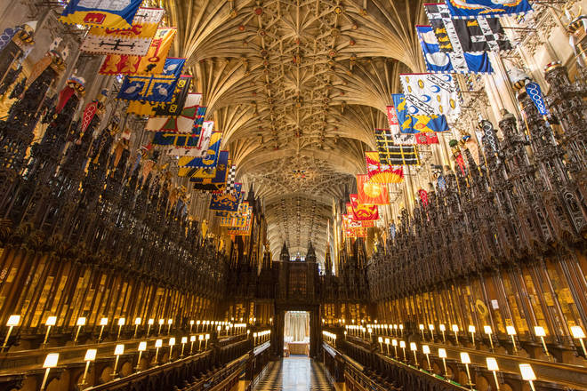 The Quire of St George's Chapel, Windsor Castle