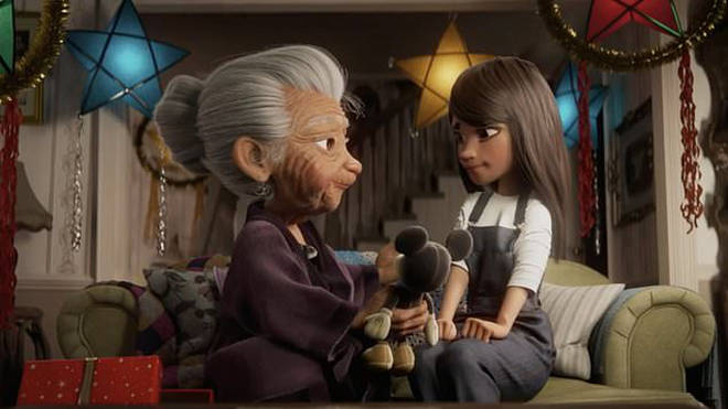 Disney's Christmas advert centres on a grandmother and her granddaughter